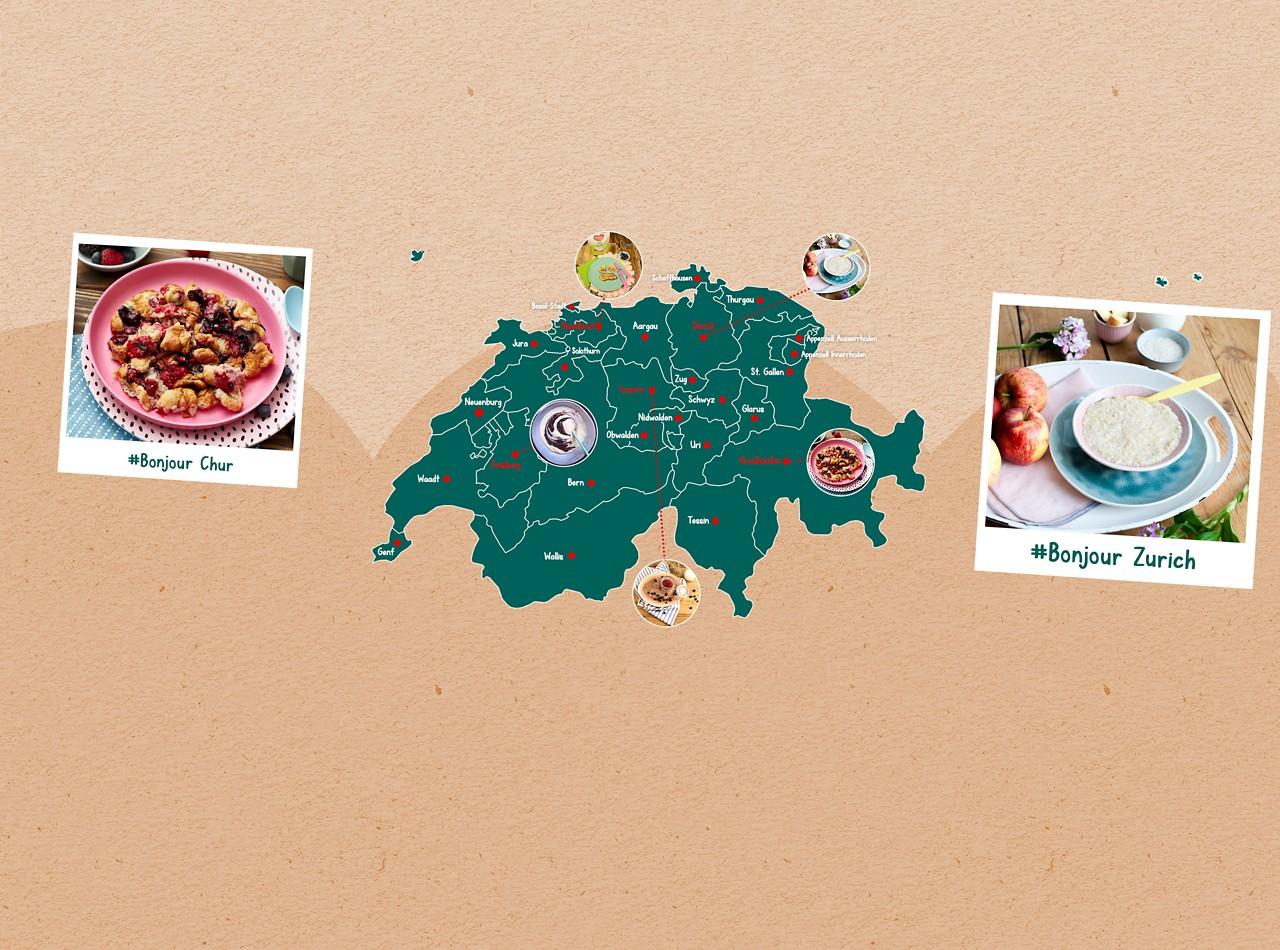 Regionale Rezepte Schweiz