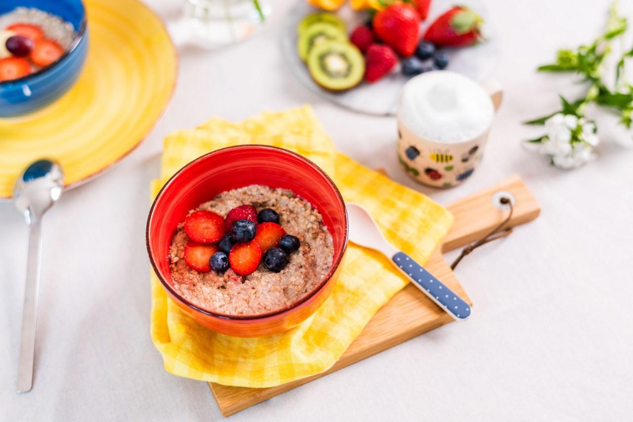 Breakfast Bowl & Kinderccino