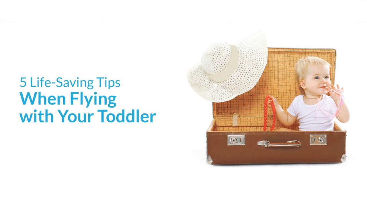 Toddler air travel tips masthead